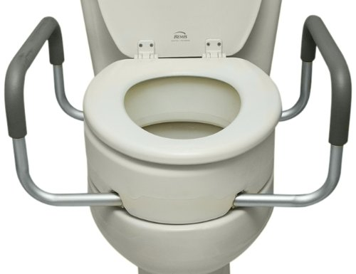 Elongated Elevated Toilet Seats